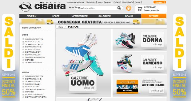 saldi cisalfa sport Archives Saldi Privati Outlet