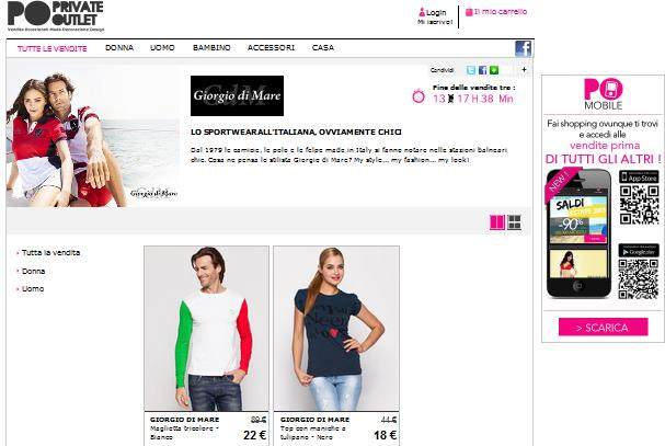 Privateoutlet: la moda non copiata
