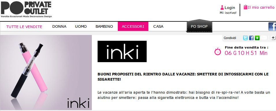 shopping prive Shopping prive: tutti i saldi possibili online