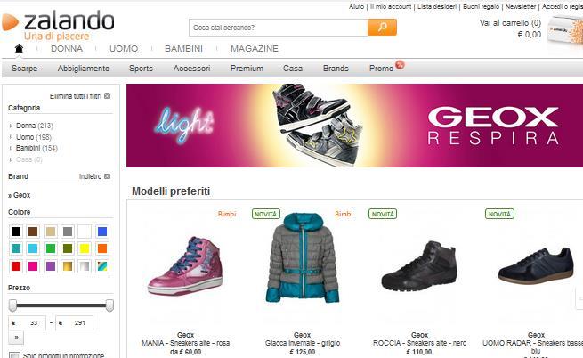 Scarpe geox saldi: respira il risparmio online